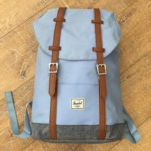 Herschel Little America Backpack Light Blue Tan